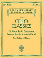 Cello Classics Schirmer's Library of Musical Classics Inter/Adv 050486515