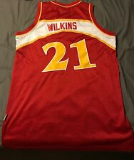 Men's Adidas Basketball Jersey Dominique Wilkins Large