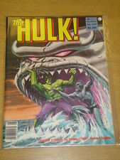 INCREDIBLE HULK #22 1980 AUG VF MAGAZINE MANAGEMENT US MAG RAMPAGING