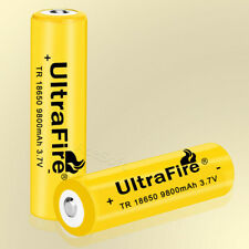 High-Performance 3.7V 9800mAh Replaceable Standard Battery for LED Flashlight US