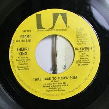 Pop 45 Sherri King - Take Time To Know Him / Take Time To Know Him On United Art