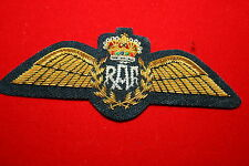 ROYAL AIR FORCE R.A.F. PILOTS WING BULLION WIRE PRINCE WILLIAM RAF OFFICER'S