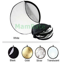 "110CM 43"" 5-in-1 Photography Studio Multi Photo Disc Collapsible Light Reflector"