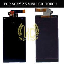Para Sony Xperia Z5 Compact Mini LCD E5803 E5823 Pantalla Táctil Digitalizador Negro