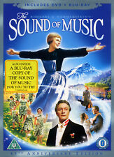 THE SOUND OF MUSIC - DVD + BLU-RAY - JULIE ANDREWS SONG DANCE MOVIE FILM MUSICAL