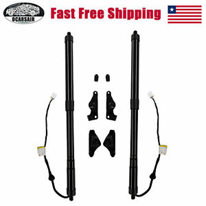 Pair Electric Tailgate Pull Down Motor Strut For Toyota Highlander 2014-2019