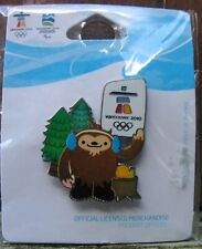 Environment Quatchi 1472 AUTHENTIC Vancouver 2010 Winter Olympic PIN