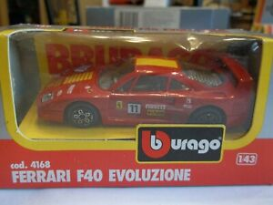 Bburago 4168 Ferrari F40 Evoluzione - Mint in Box