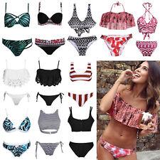 2pcs Women Bikini Bandage Push Up Padded Swimwear Swimsuit Bathing Beachwear Lot