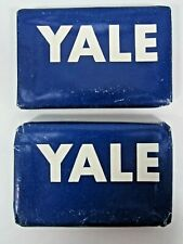 VINTAGE YALE UNIVERSITY SMALL SOAP LOT OF 2