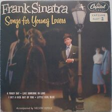 "FRANK SINATRA-""SONGS FOR YOUNG LOVERS"" EX/EX CAPITOL 45rpm EAP2-488 7"" Part 2"