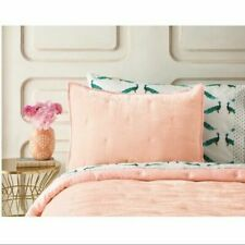Opalhouse Velvet Tufted Stitch Pink Blush Luxury Soft Pillow Sham Target project