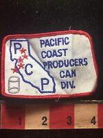 Vtg As-Is PCP Pacific Coast Producers Can Division California Patch C761