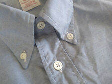 NWOT Brooks Brothers Blue Supima Button Down XL 18-35 Madison MSRP $140