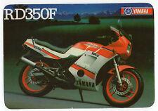 1988 Portugese Pocket Calendar Yamaha RD350F Motorcycle Motorbike bike