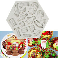 Silicone Cake Fondant Mould Sugarcraft Chocolate Baking Mold Topper Decorating
