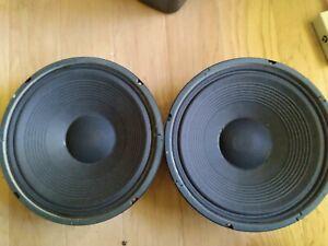 Fender Special Design speakers pair 12 inch 50 Watt 8 ohm