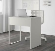 MODERN COMPUTER DESK WOODEN TABLE WORKSTATION WHITE OFFICE HOME MICKE STUDENT