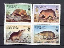 27969) DOMINICANA REP. 1994 MNH** Nuovi** Wild Animals