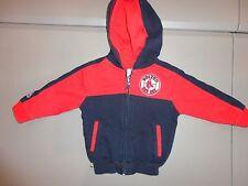 Red & Blue RARE 2T SEWN Boston Red Sox  MLB  Baseball Hooded Hoodie Sweatshirt