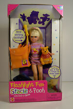 Barbie sister Stacie vintage Flashlight fun Winnie Pooh Ourson