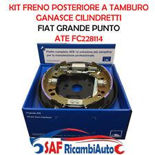 KIT FRENO POSTERIORE A TAMBURO FIAT GRANDE PUNTO GANASCE CILINDRETTI FC228114