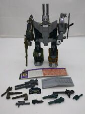Vintage 1986 Hasbro G1 Transformers COMBINER Bruticus Combaticons COMPLETE SET