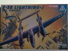 Dragon Italeri P-38 Lightning - J  U.S. Fighter1/72 kit