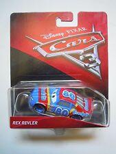 NOVITA' CARS 3 Disney pixar REX REVLER nr.80 2017 RARO mattel 1/55 maclama