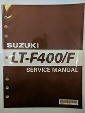 Suzuki Lt-400/F Atv Service Manual 99500-43050-01E