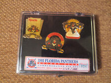 FLORIDA PANTHERS HOCKEY CLUB 1993 Commemorative Pin Set Limited Ed. of 10000