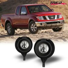 For 05-17 Nissan Frontier PAIR OE Factory Fit Fog Light Bumper Kit Clear Lens