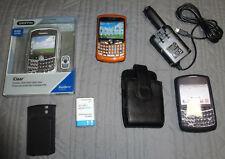 BlackBerry Curve 8320 Orange Unlocked Cell Phone Simple MetroPCS Mobile Cricket