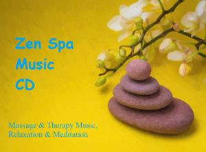 ZEN SPA Music CD - Relaxation Meditation Salon Massage Beauty Stress Healing