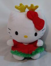 TY BEANIE BABIES SANRIO HELLO KITTY CHRISTMAS HOLIDAY PLUSH Reindeer Antlers SA4