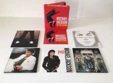 Michael Jackson The Collection 5 CD Box Set Off the Wall Thriller Bad Dangerous