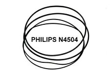 SET BELTS PHILIPS N4504 REEL TO REEL EXTRA STRONG NEW FACTORY FRESH N 4504