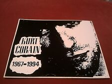 "Nirvana 1967-1994 Kurt Cobain Face 5""x4"" Sticker Decal"