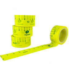 1 Roll Packing Paper Tape With Measure Scale Ruler Bag Carton Case Sealing Tool
