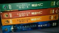 Stargate SG-1 DVD Lot Season 4,6,7, & 9 -A total of 4 seasons TV Box Set