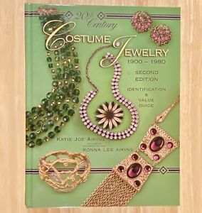 20th Century COSTUME JEWELRY 1900-1980,  2nd Edition (LIKE NEW)