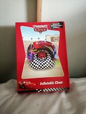 Disney Pixar Cars Inflatable Chair Childrens Bedroom Chair Kids Seat NEW