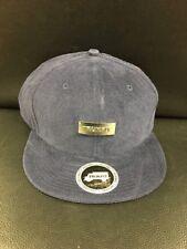 Trukfit NWT Blue Corduroy Prototype Sample Snapback Hat
