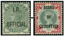 More details for queen victoria officials sg o1-o81 good used single stamps