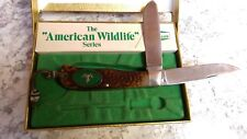 Camillus 10G Knife American Wildlife Mountain Sheep USA Made Collectors knife
