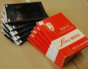 10 Lisco Regal 4x5 Large Format Film Holders for Press Camera Vintage