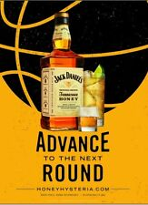 BASKETBALL JACK DANIELS HONEY 18 BY 27 POSTER  NEW