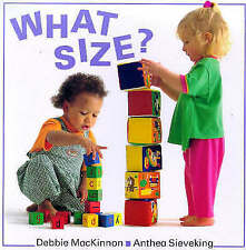 MacKinnon, Debbie, What Size? (Right Start), Very Good Book
