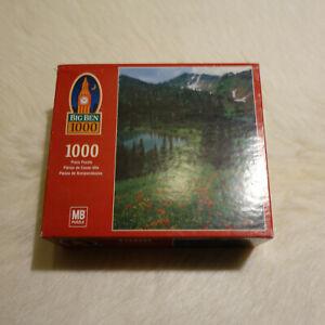 ALPS Puzzle Lake Puzzle BIG BEN Puzzle 1000 Pieces Landscape Puzzle Mountains