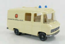 "MB Krankenwagen ""Johanniter Unfallhilfe"" Wiking 27 1:87 H0 ohne OVP [PF1-A5]"